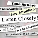 Listen closely graphic