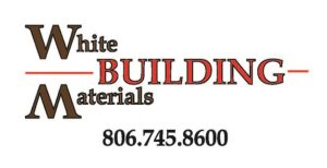 White Building Materials Logo