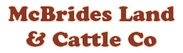 McBride's Land and Cattle